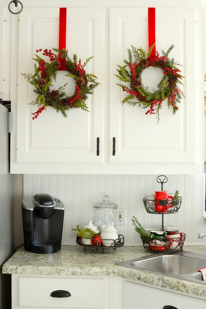 Kitchen Cabinet Christmas Decorating Ideas  The Frugal Homemaker — Your guide to turning your house