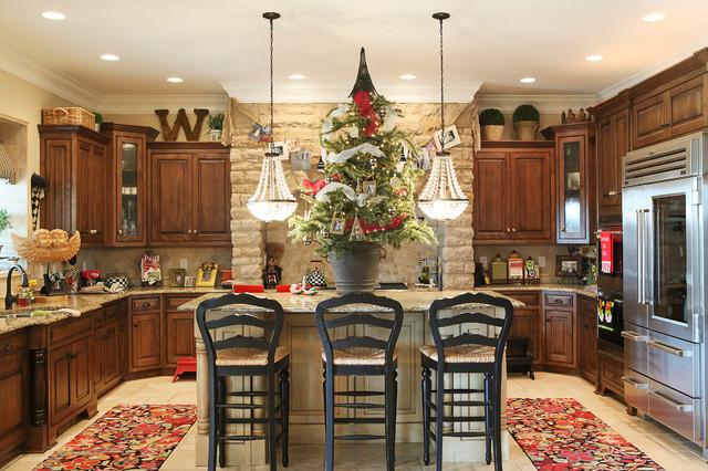 Kitchen Cabinet Christmas Decorating Ideas  8 Perfectly Decorated Holiday Kitchens Shakeology