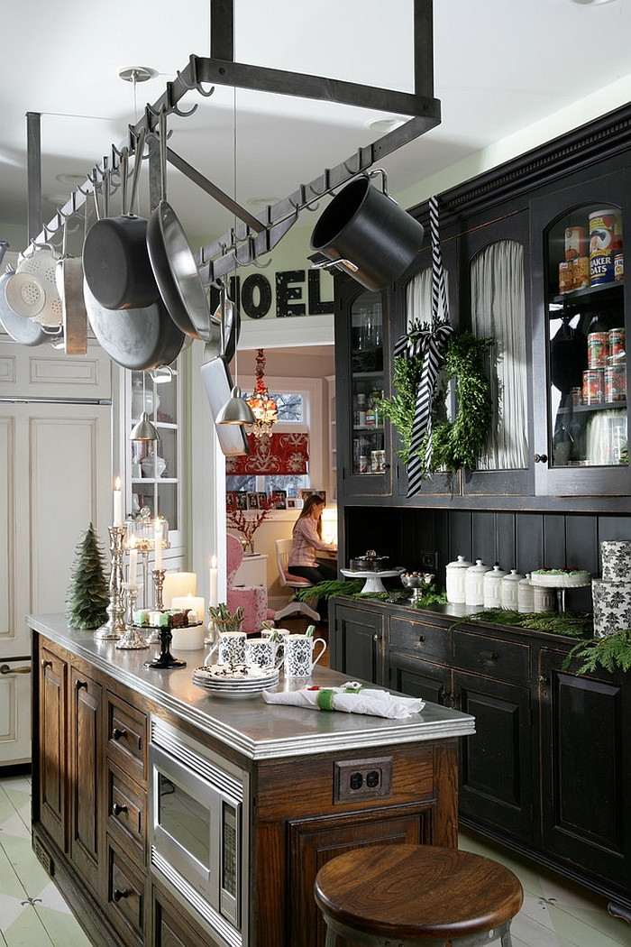 Kitchen Cabinet Christmas Decorating Ideas  Christmas Decorating Ideas That Add Festive Charm to Your