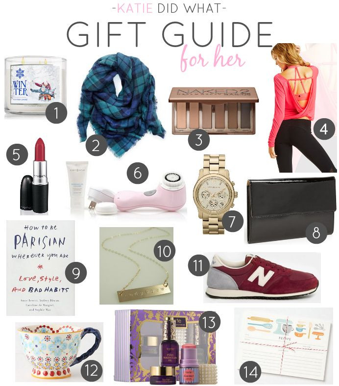 Ladies Christmas Gift Ideas  GIFT GUIDE FOR HER Best Mom Blogs