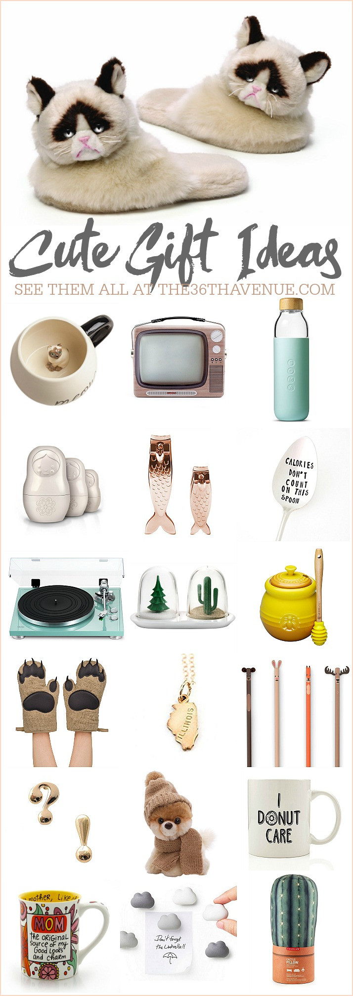 Ladies Christmas Gift Ideas  25 Gift Ideas Cute Women Gifts The 36th AVENUE