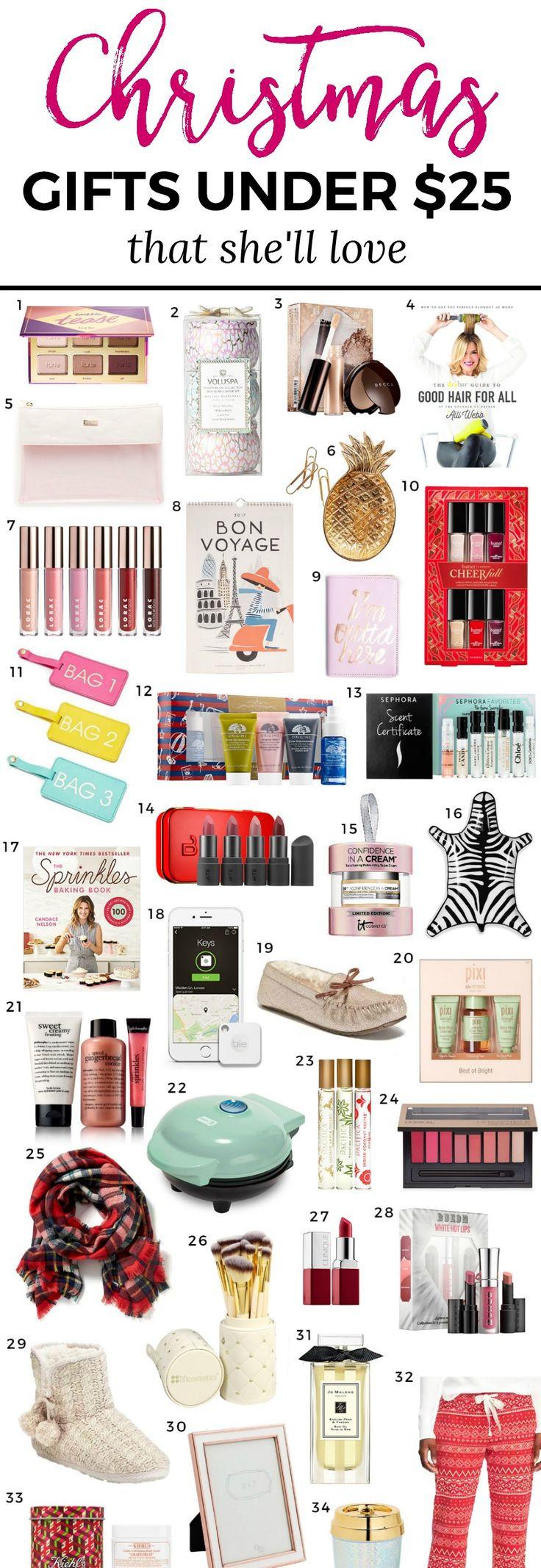 Ladies Christmas Gift Ideas  Best 25 Christmas t ideas ideas on Pinterest