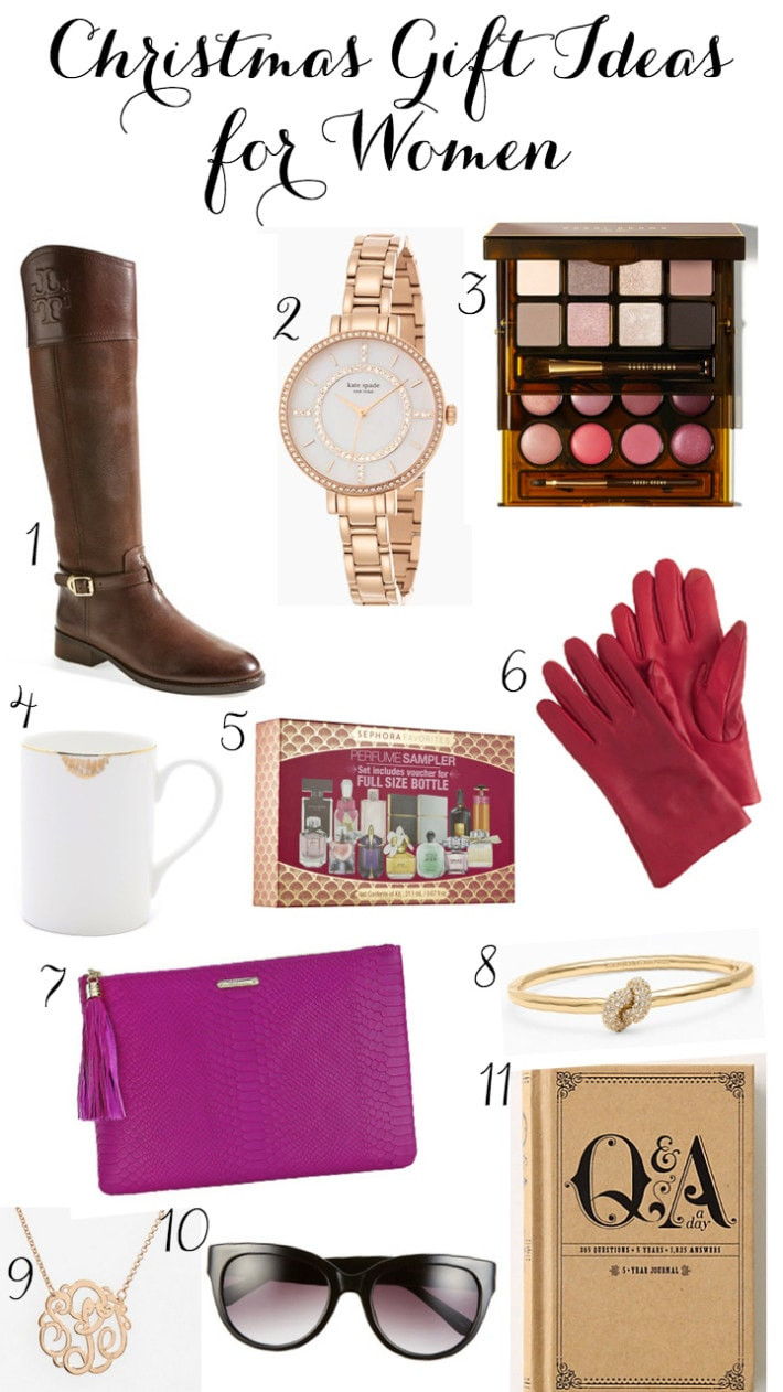 Ladies Christmas Gift Ideas  The Best Christmas Gifts For Women