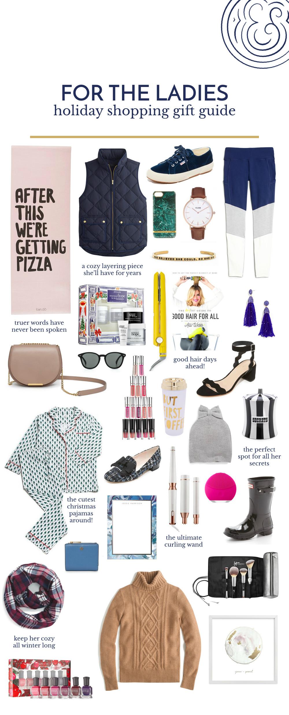 Ladies Christmas Gift Ideas  Gift Guide For the La s Pretty & Fun