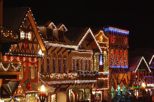 Leavenworth Christmas Tree Lighting  Inside My Hideaway December 2010
