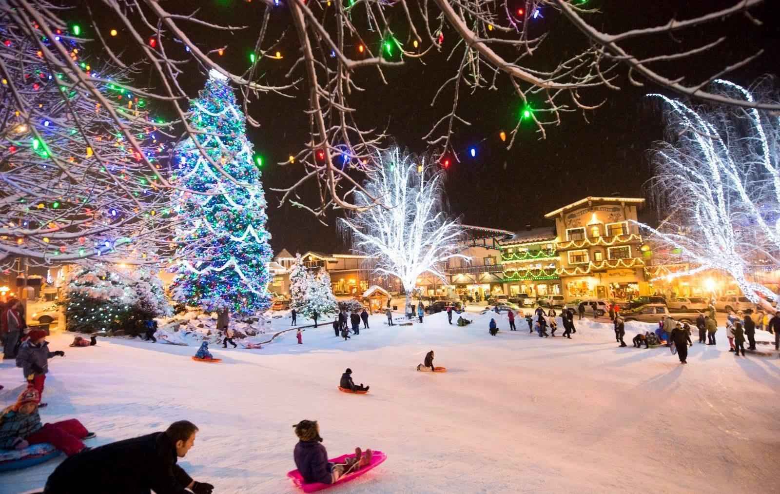 Leavenworth Christmas Tree Lighting  Leavenworth Christmas Tree Lighting Getaway The Seattle