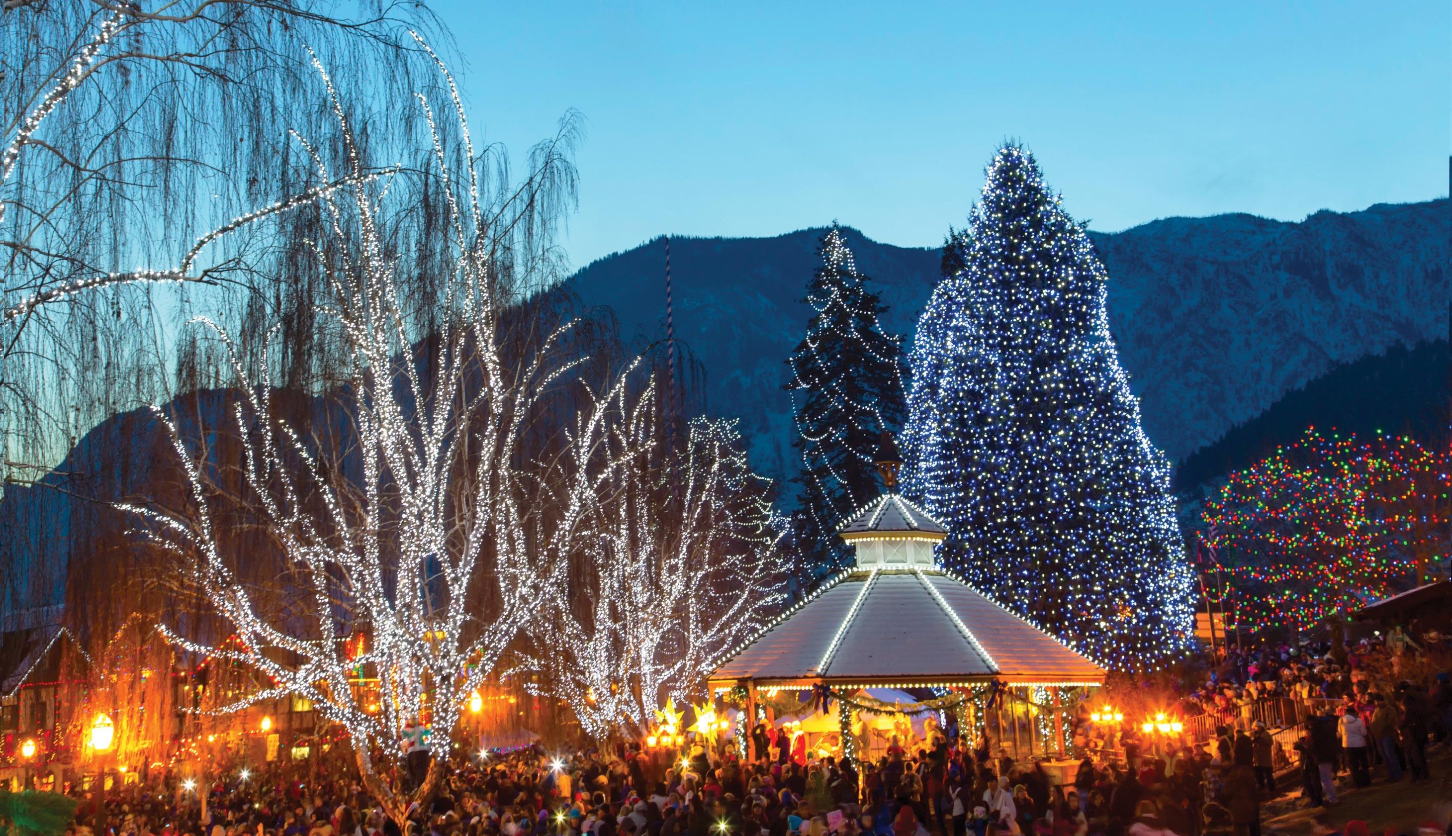 Leavenworth Christmas Tree Lighting  Leavenworth Christmas Lighting Festival with Bellevue