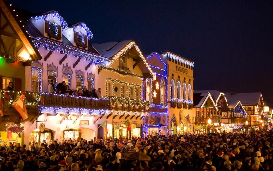 Leavenworth Christmas Tree Lighting  Leavenworth Holiday Lighting Festival