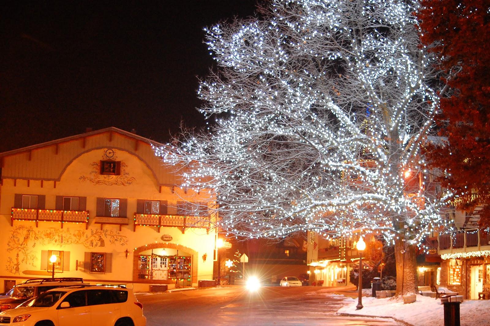 Leavenworth Christmas Tree Lighting  Around Seattle Almost Weekly Pics November 19 2011