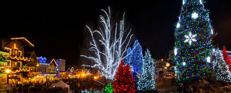 Leavenworth Christmas Tree Lighting  leavenworth wa christmas tree lighting