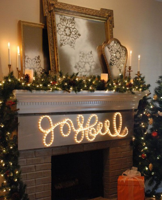 Lighted Christmas Decorations Indoor  31 Gorgeous Indoor Décor Ideas With Christmas Lights