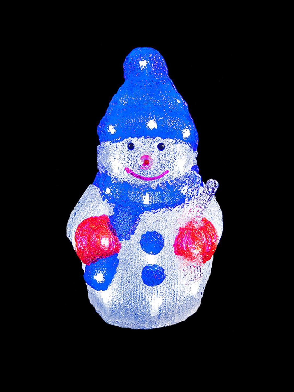 Lighted Christmas Decorations Indoor  Light Up Acrylic Santa Snowman Reindeer Christmas Outdoor