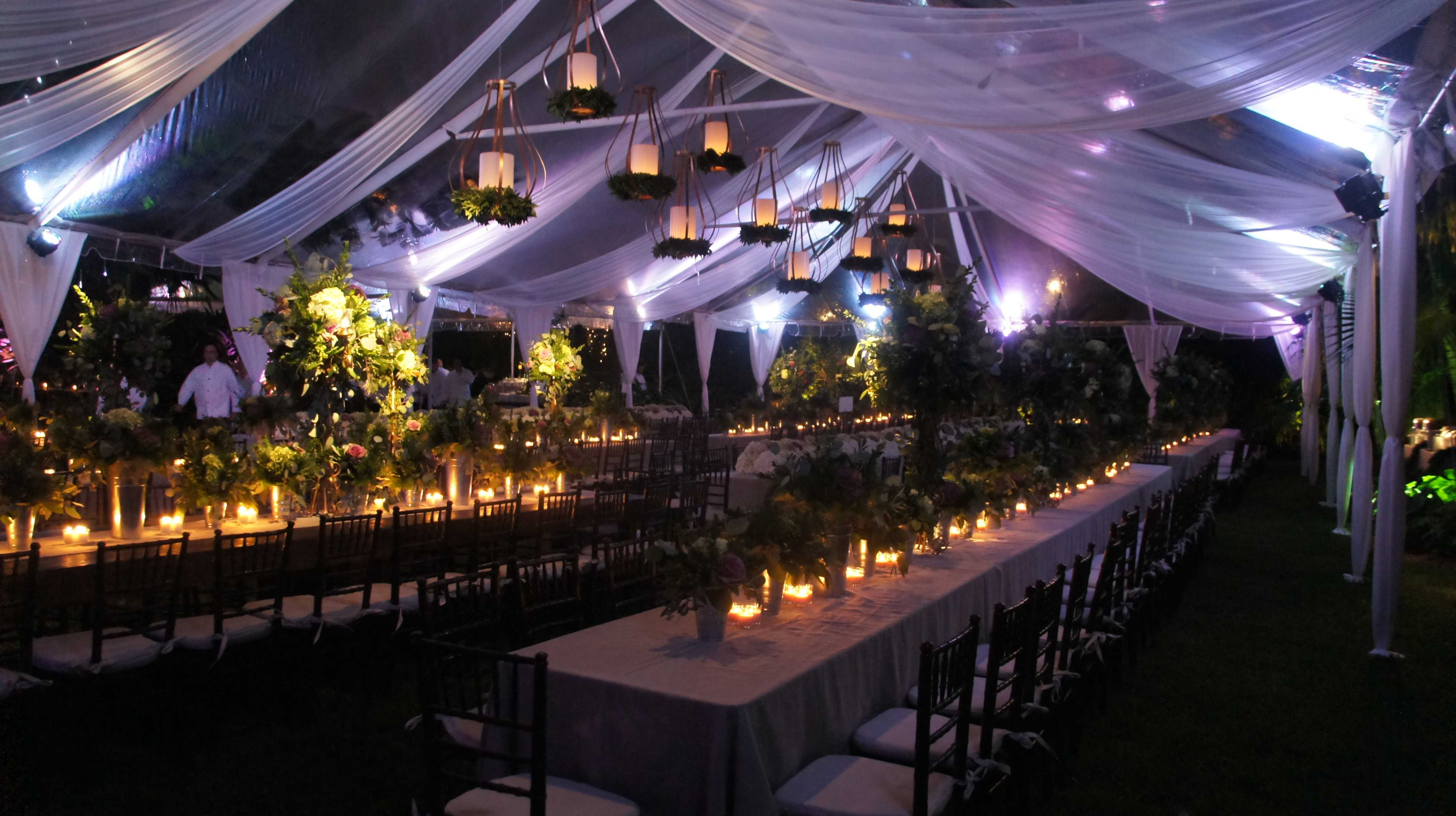 Lighting Ideas For Backyard Party  9 Great Party Tent Lighting Ideas For Outdoor Events