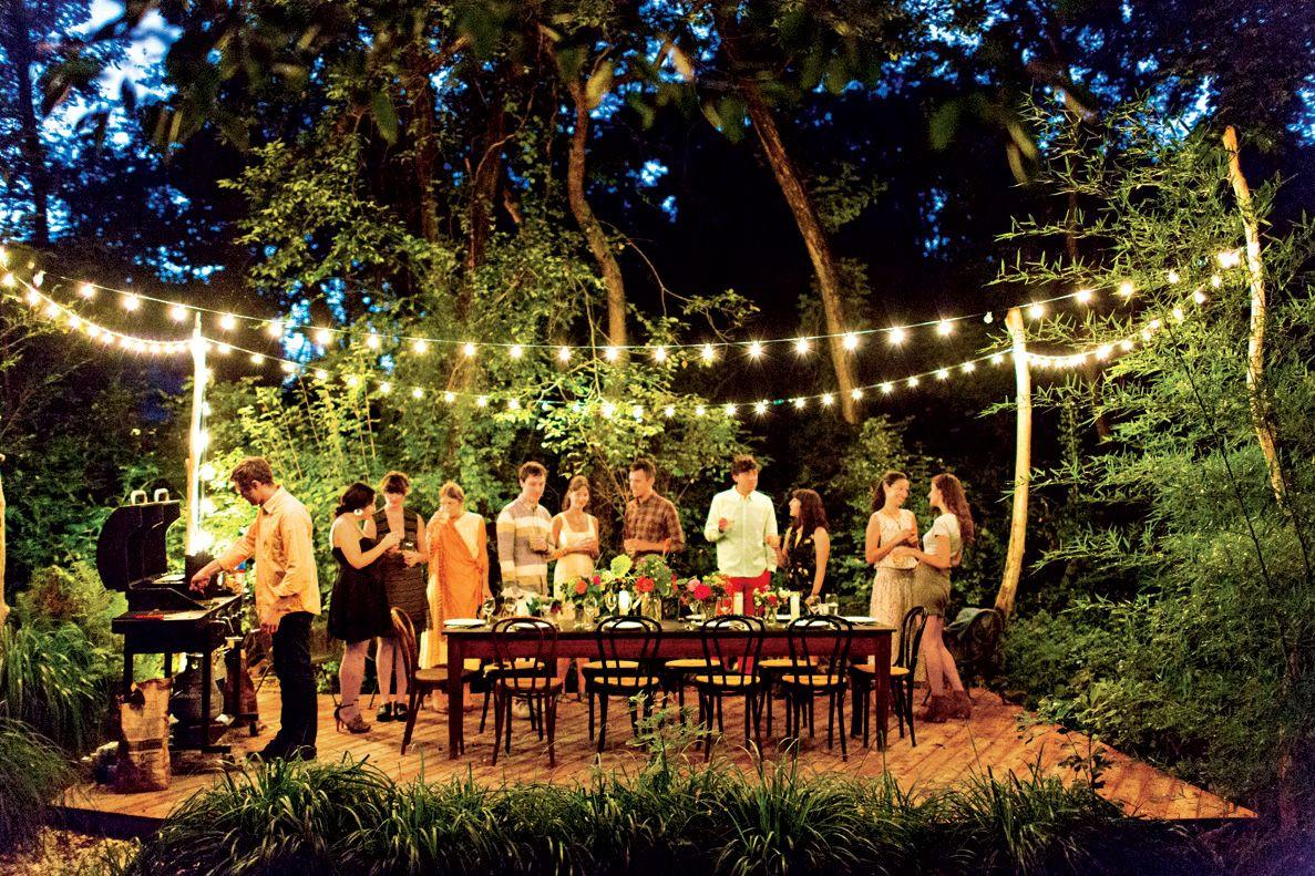 Lighting Ideas For Backyard Party  5 Life Hacks To Make Your Backyard A Wonderland The Body