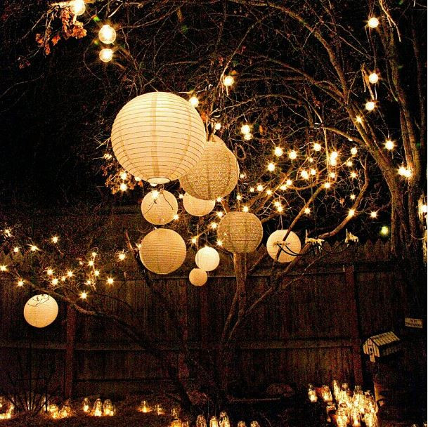 Lighting Ideas For Backyard Party  This Summer Lighten Up Your Garden With These Fantastic