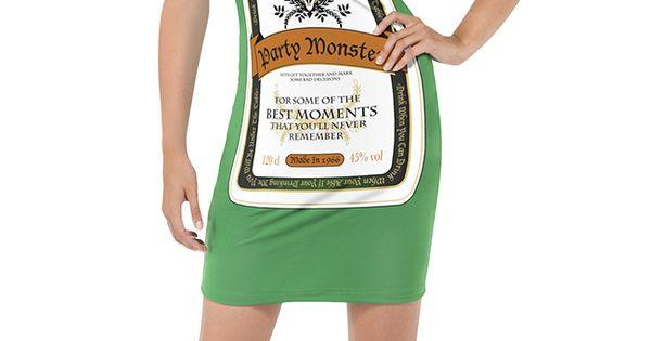 Liquor Cabinet Halloween Costumes  Party Monster Liquor Bottle Costume