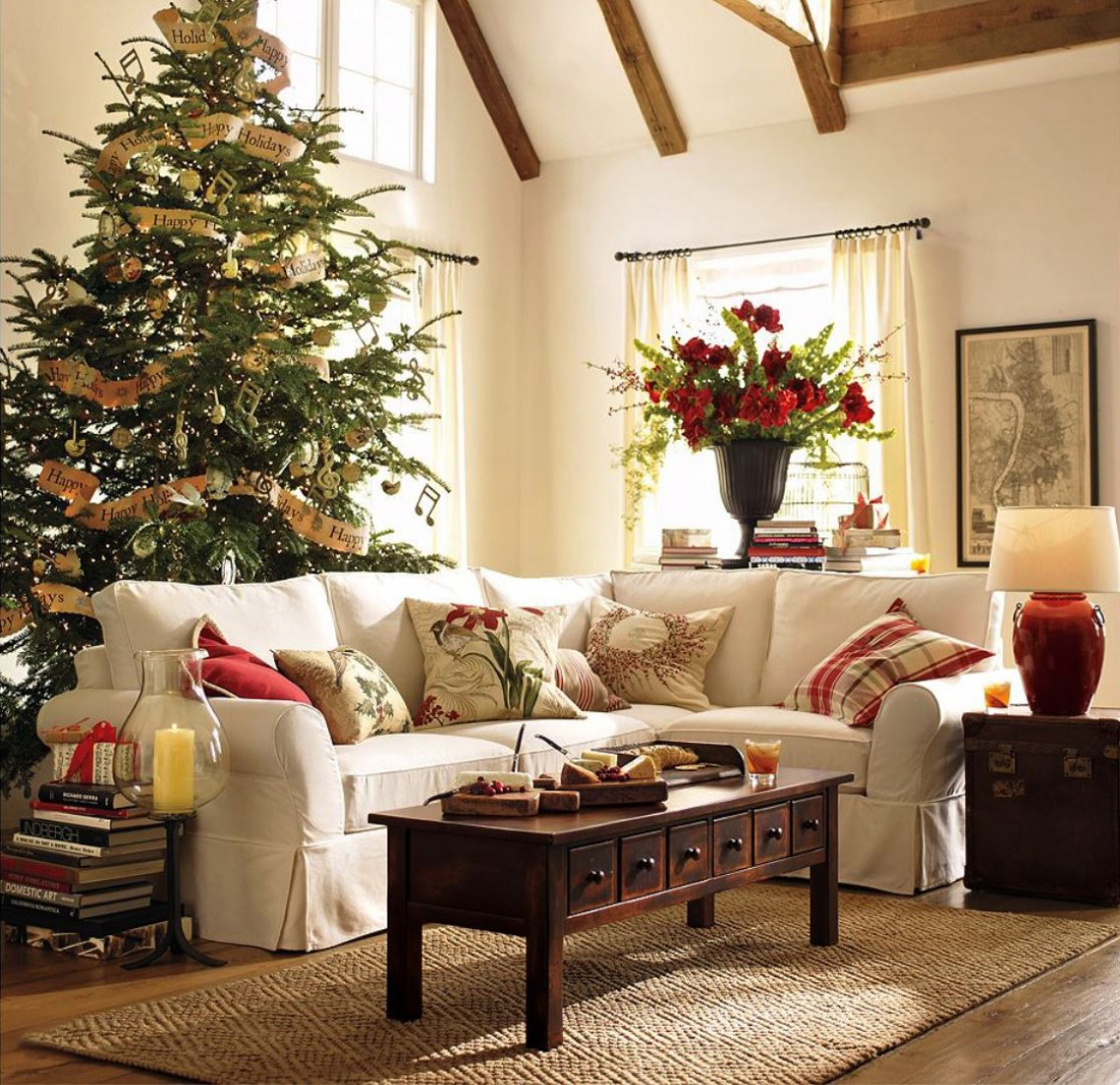 Living Room Christmas  6 Quick Tips on Rearranging your Living Room for the