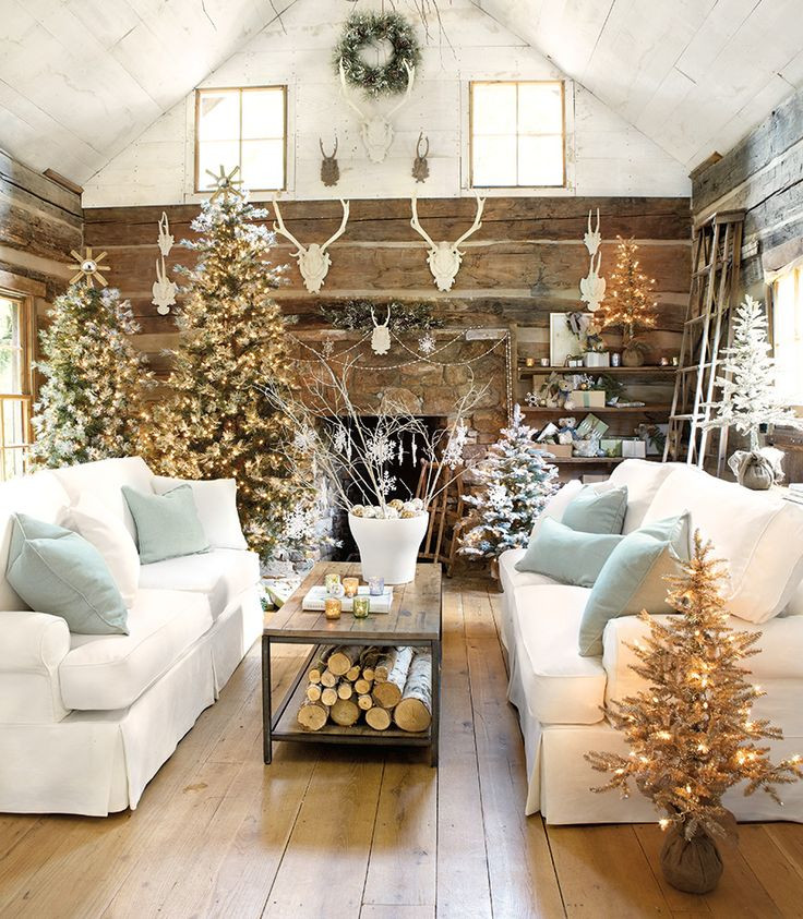 Living Room Christmas Decorations  10 lovely Christmas living rooms becoration