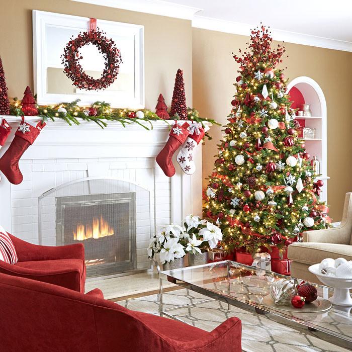 Living Room Christmas Decorations  Inspiring Christmas Decor Ideas