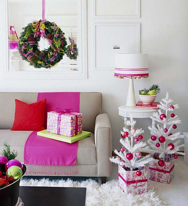 Living Room Christmas Decorations  Christmas Living Room Decorating Ideas