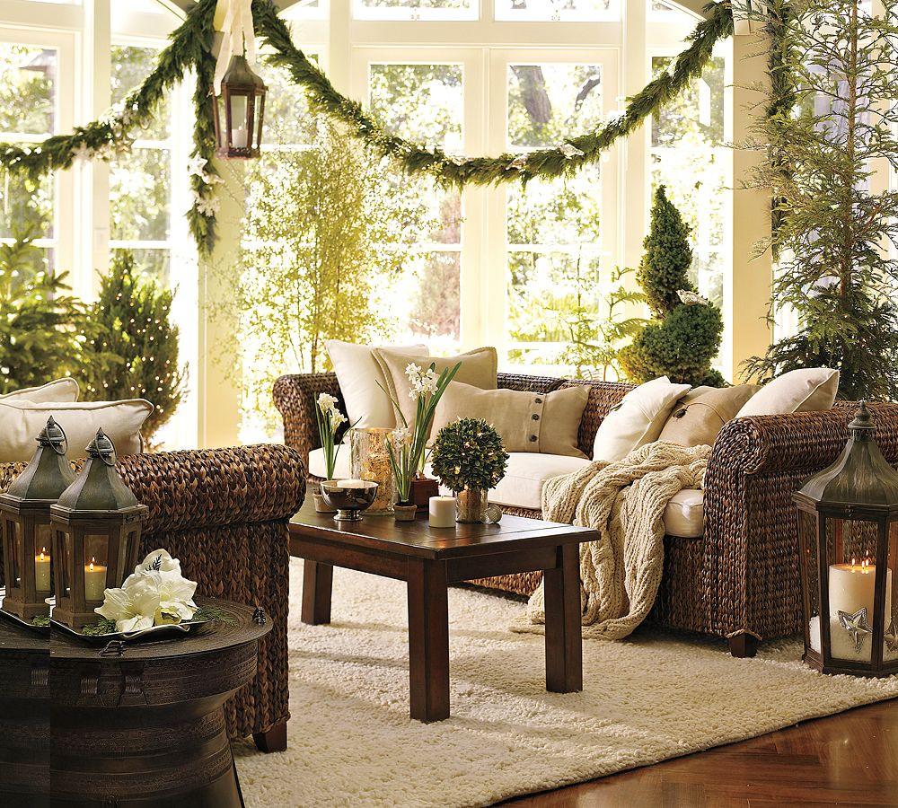 Living Room Christmas  Christmas Interiors