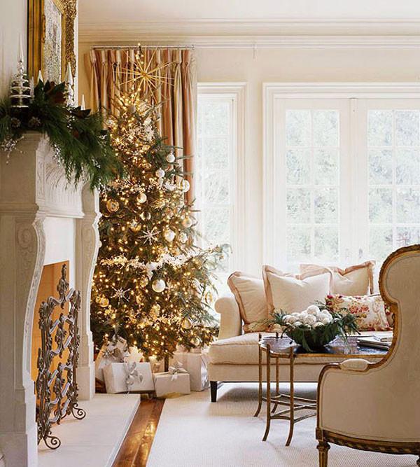 Living Room Christmas  Home Decoration Design Christmas Decorations Ideas