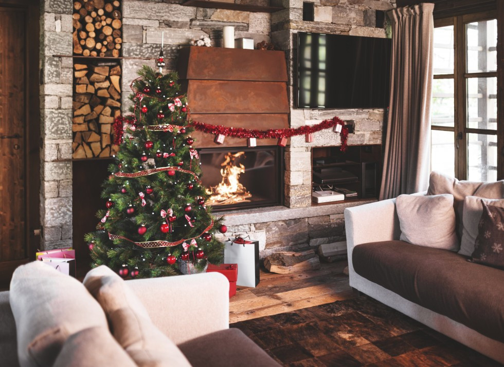 Living Room Christmas  5 Solutions for Hard to Store Items in Your Home ZING