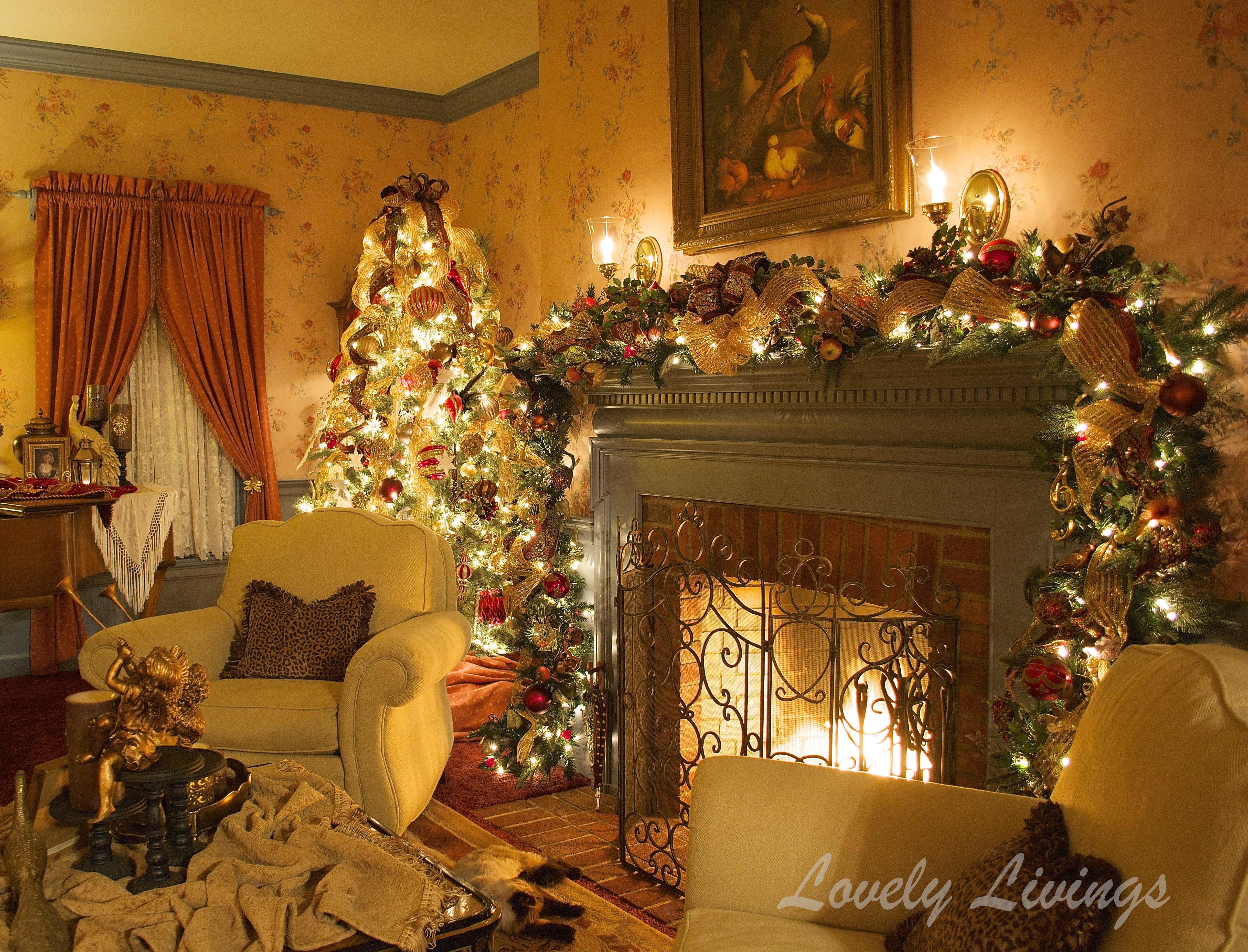 Living Room Christmas  The Christmas Room