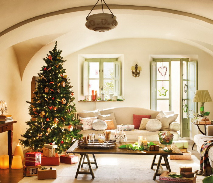 Living Room Christmas  The Homemaker s Guide to Wel ing Christmas in the Living