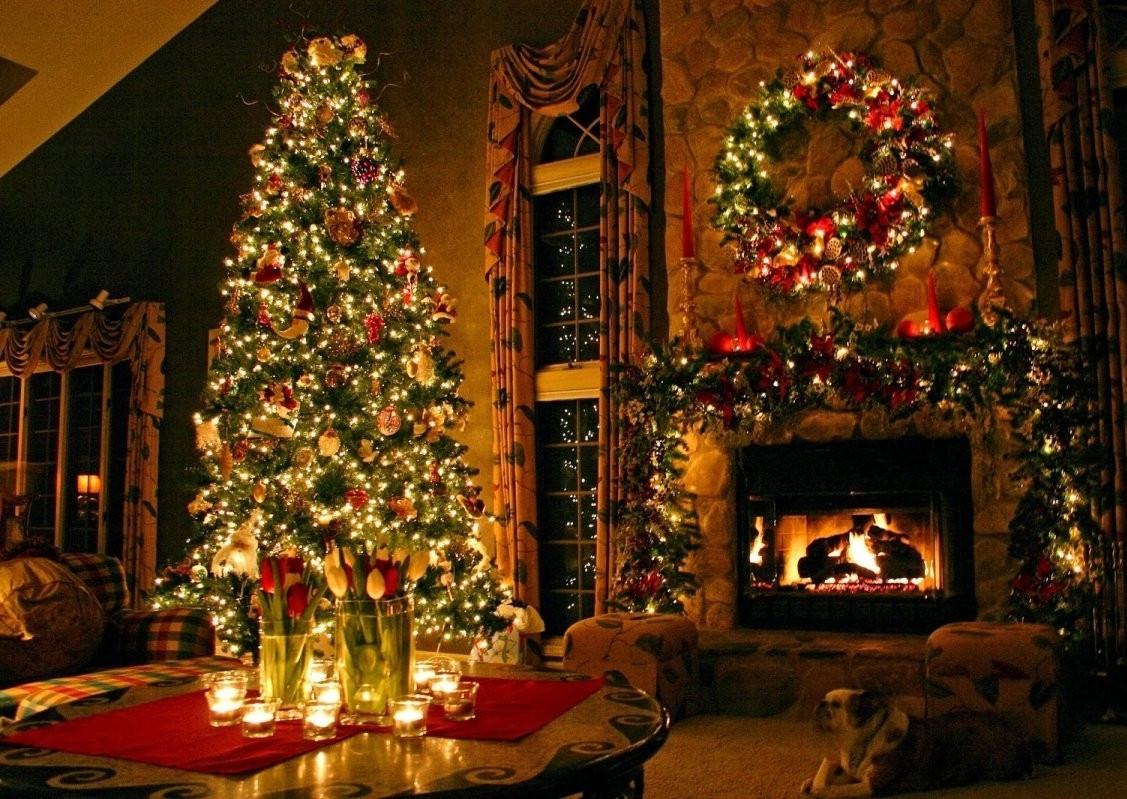 Living Room Christmas  25 Christmas Living Room Decor Ideas