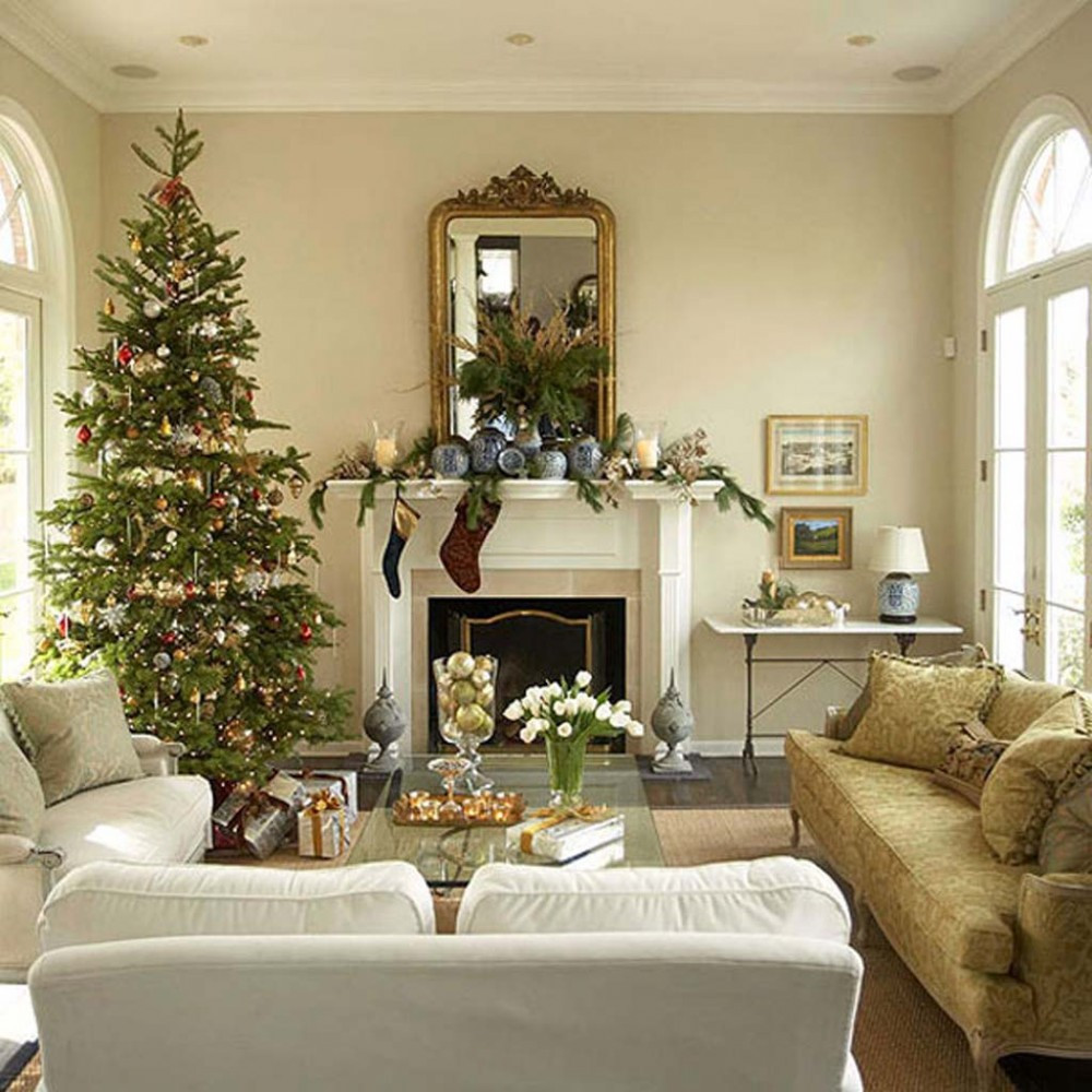 Living Room Christmas  Get Inspired With These Amazing Living Rooms Decor Ideas
