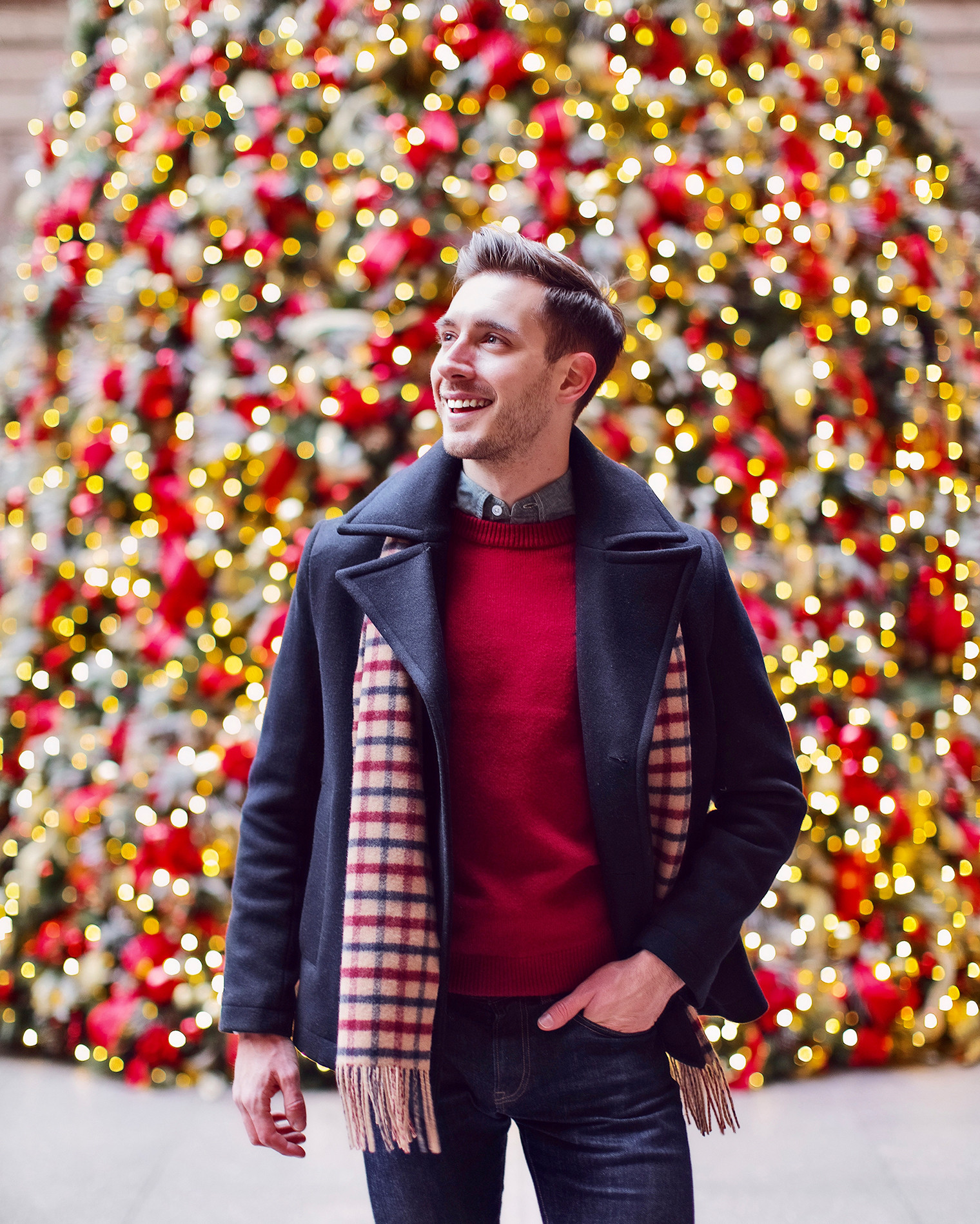 Mens Christmas Party Outfit Ideas  What To Wear To A Casual Holiday Party Bright Bazaar by