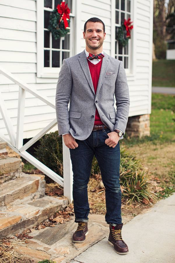 Mens Christmas Party Outfit Ideas  30 Bow Tie Fashion Ideas For Men To Look Stylish