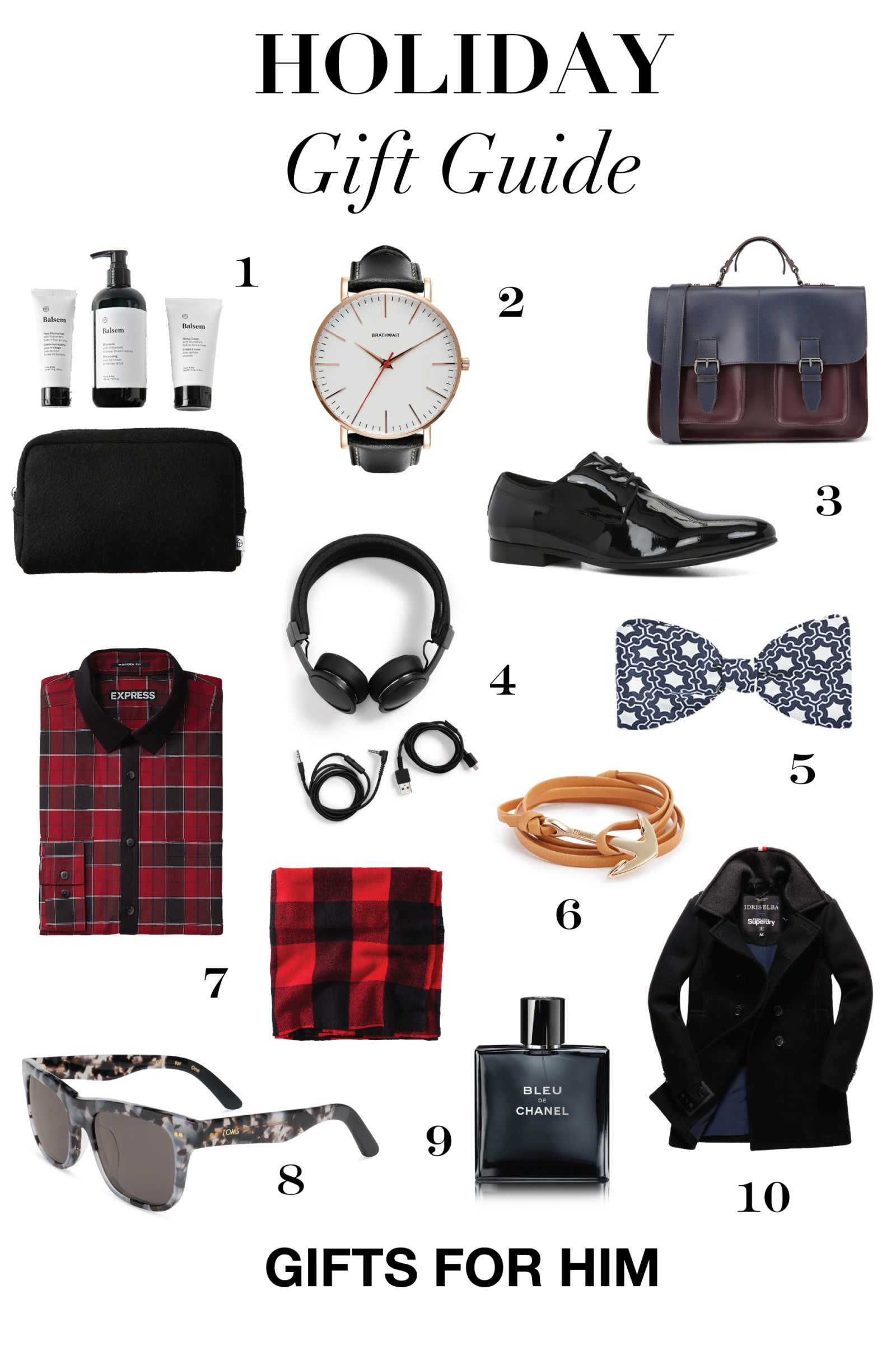 Mens Gift Ideas For Christmas  Holiday Gifts for Men