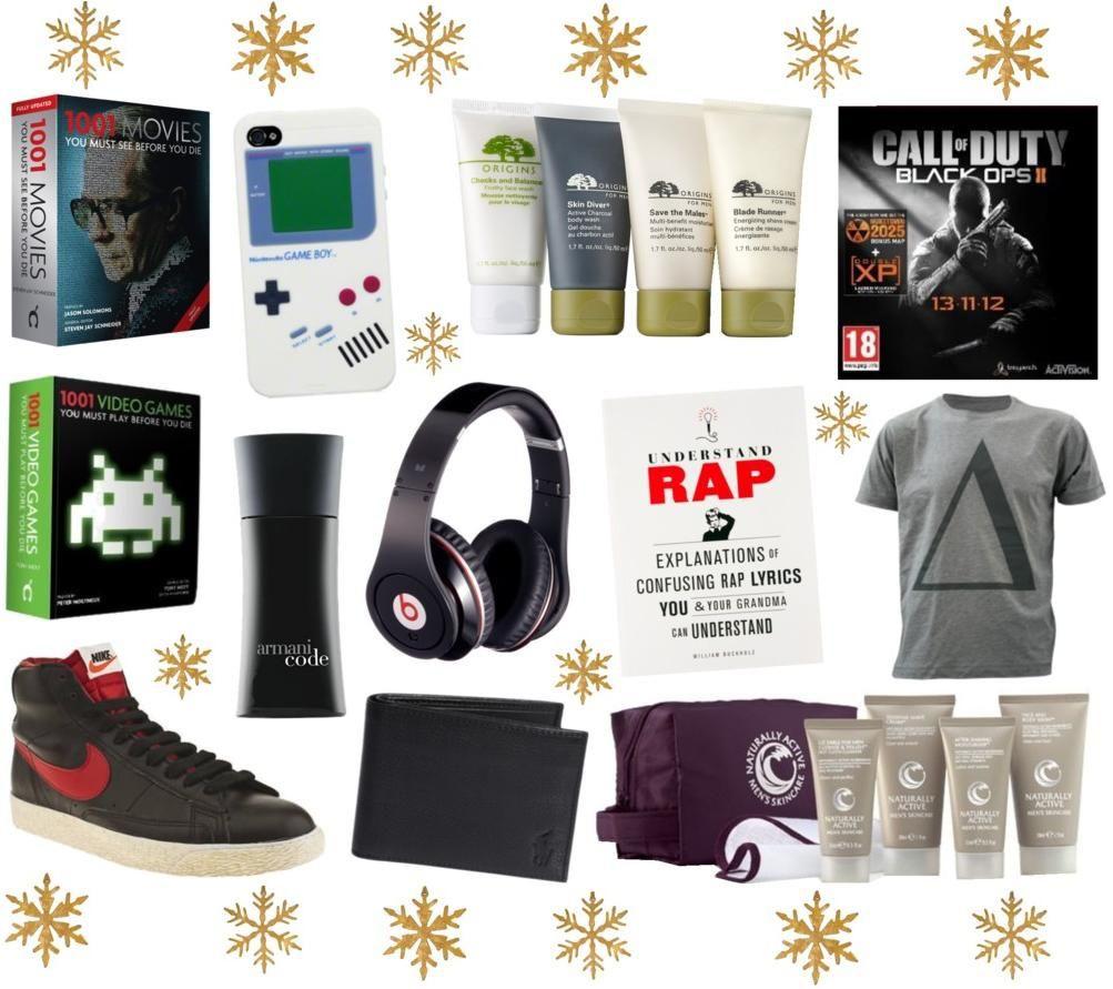 Mens Gift Ideas For Christmas  Christmas Gift Ideas For Men Christmas t ideas for men