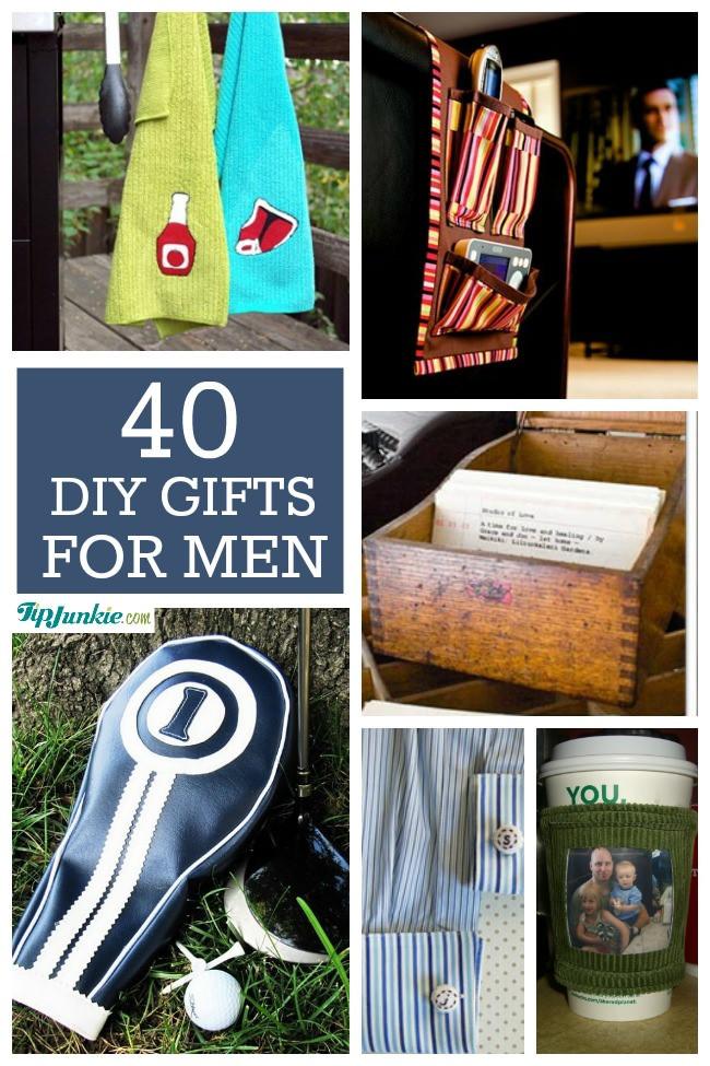 Mens Gift Ideas For Christmas  40 Homemade Christmas Gift Ideas for Men – Tip Junkie