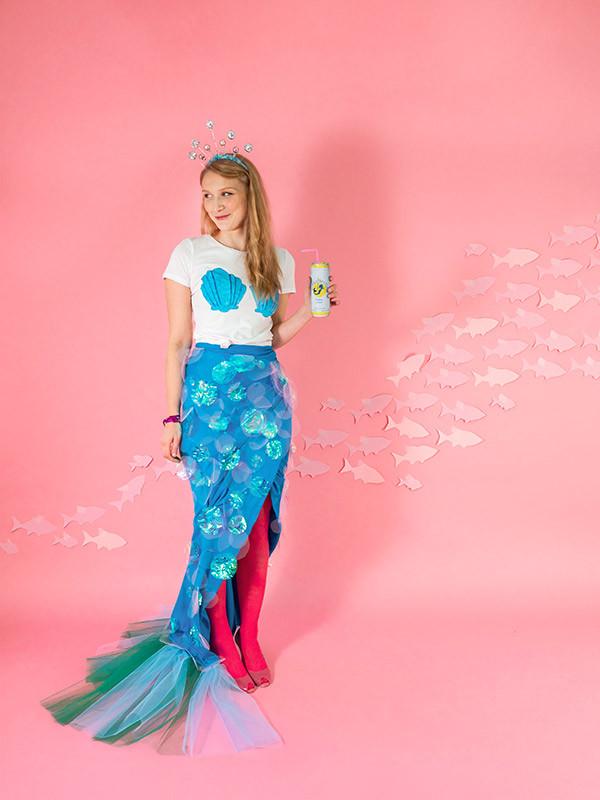 Mermaid Costume DIY  Mermaid Costume DIY