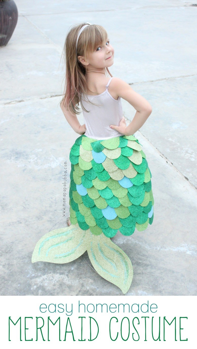 Mermaid Costume DIY  World Book Day Costume Ideas In The Playroom