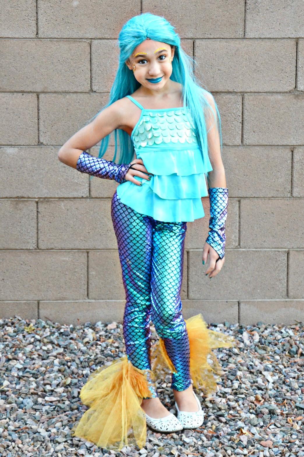 Mermaid Costume DIY  DIY Mermaid Costume learn how to add a mermaid fin tail