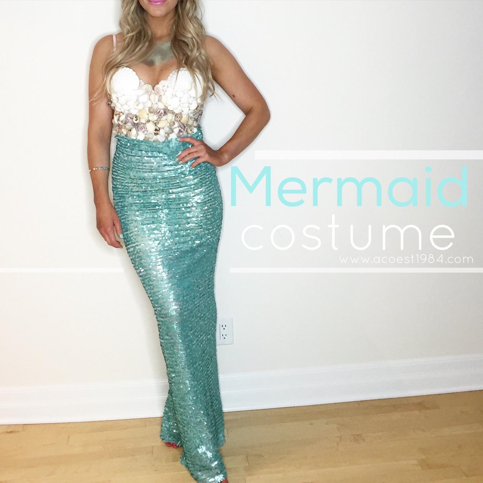 Mermaid Costume DIY  Inexpensive DIY Mermaid Costume
