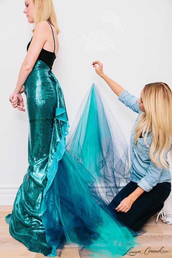 Mermaid DIY Costumes  Hocus Pocus My Mermaid Halloween Costume Lauren Conrad