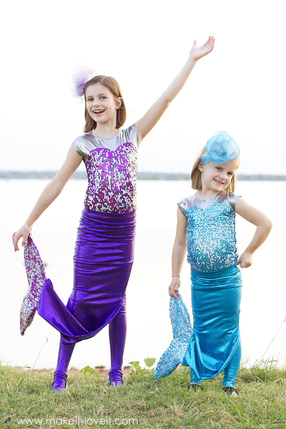 Mermaid DIY Costumes  DIY Mermaid Costume with a REPOSITIONABLE Fin