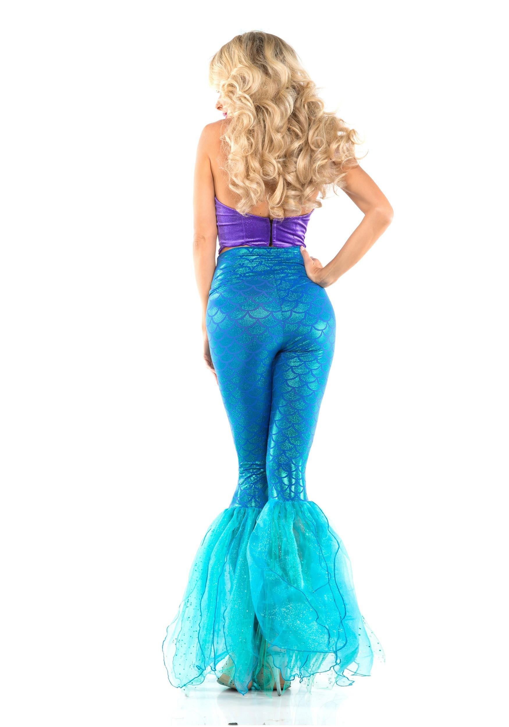 Mermaid DIY Costumes  Women s Fantasy Mermaid Costume