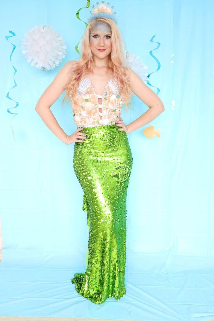 Mermaid DIY Costumes  Best 25 Homemade mermaid costumes ideas on Pinterest