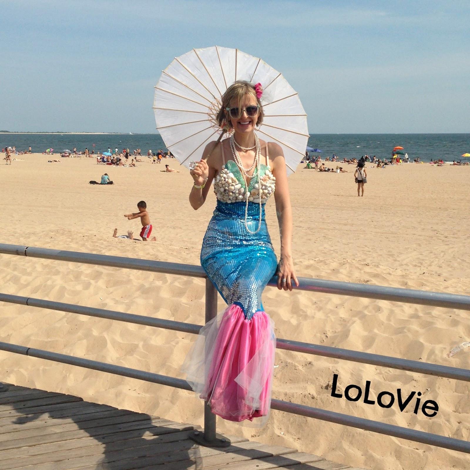 Mermaid DIY Costumes  LoLovie Mermaid dress DIY