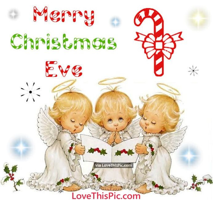 Merry Christmas Baby Quotes  Cute Merry Christmas Eve Quote With Baby Angels