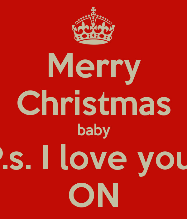 Merry Christmas Baby Quotes  Christmas I Love You Quotes QuotesGram
