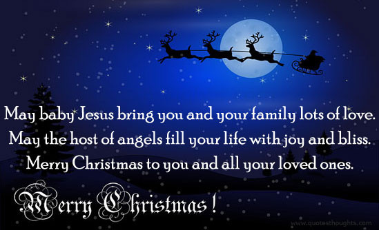 Merry Christmas Baby Quotes  Christmas Greeting