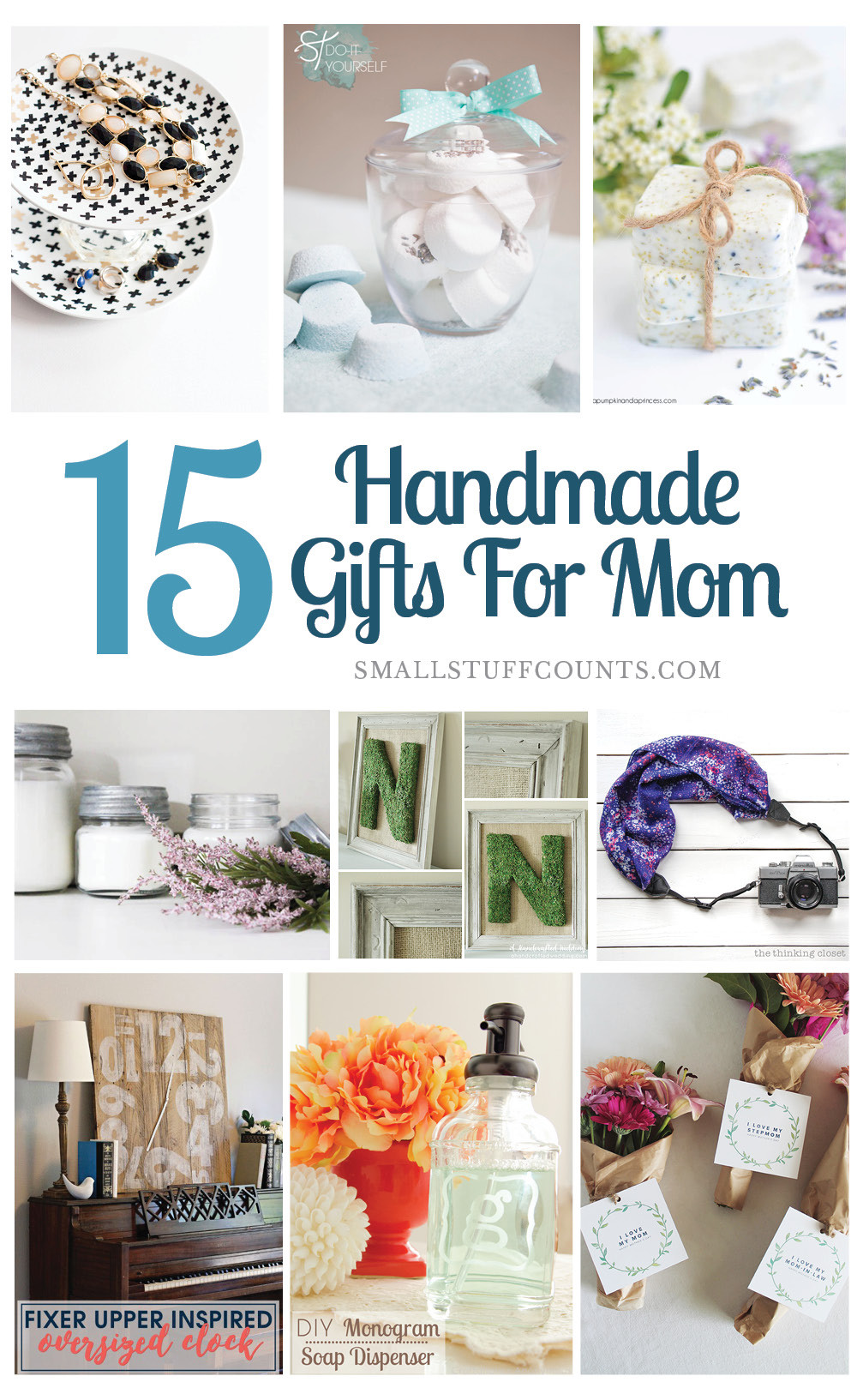 Mom Christmas Gift Ideas  Beautiful DIY Gift Ideas For Mom