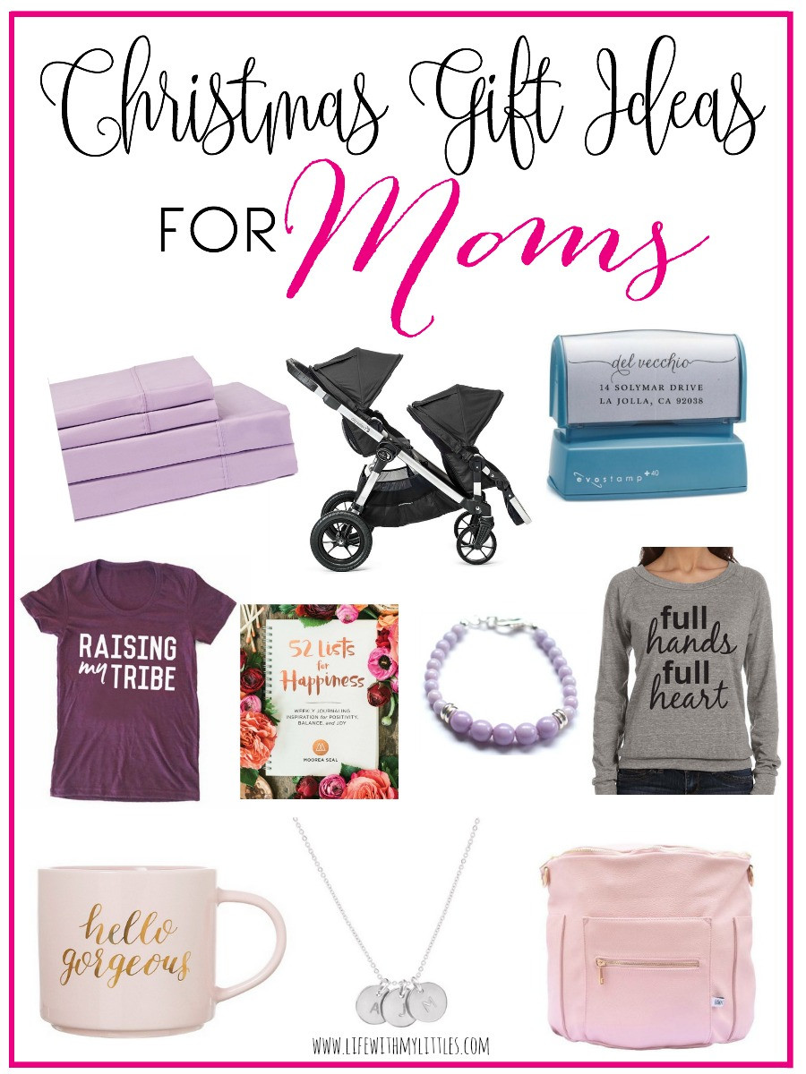 Mom Christmas Gift Ideas  Christmas Gift Ideas for Moms Life With My Littles